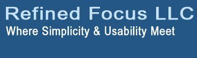 Refined Focus - Where Simplicity & Usability Meet
