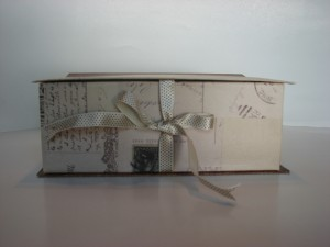 Vintage Album Box