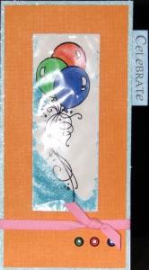 Baloon Shaker Card
