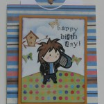 Birthday Boy Card Flat