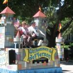 German Themed Float