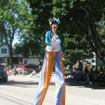 Woman on Stilts