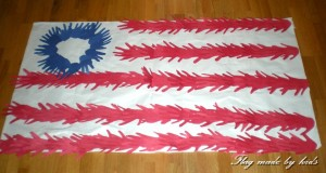 Flag made by Kids