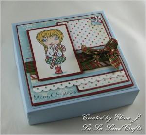 Candy Cane Lala Box