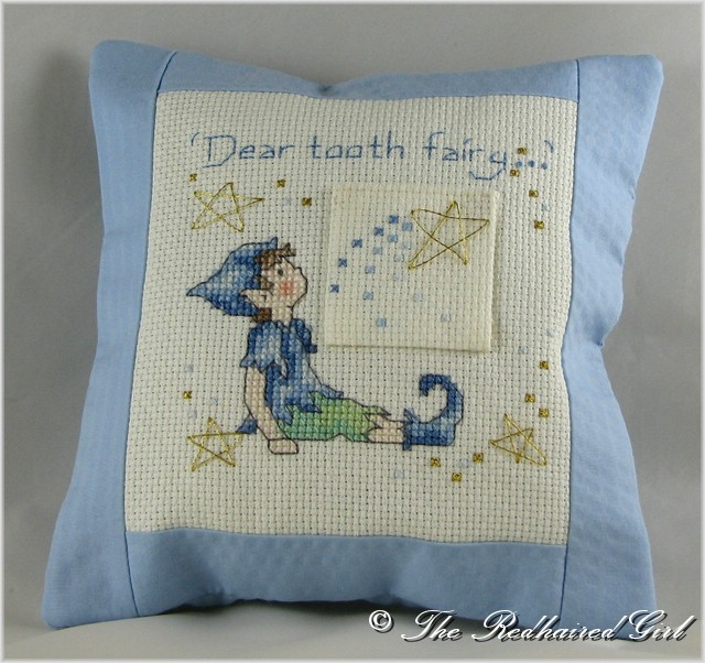Tooth Fairy Pillow | TheRedHairedGirl