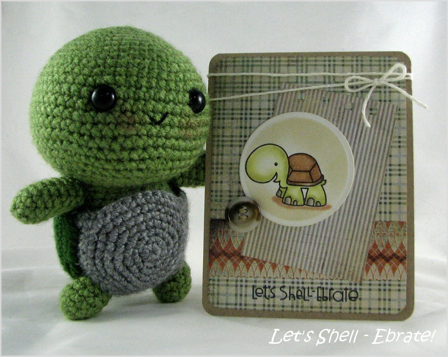 Turtle and card