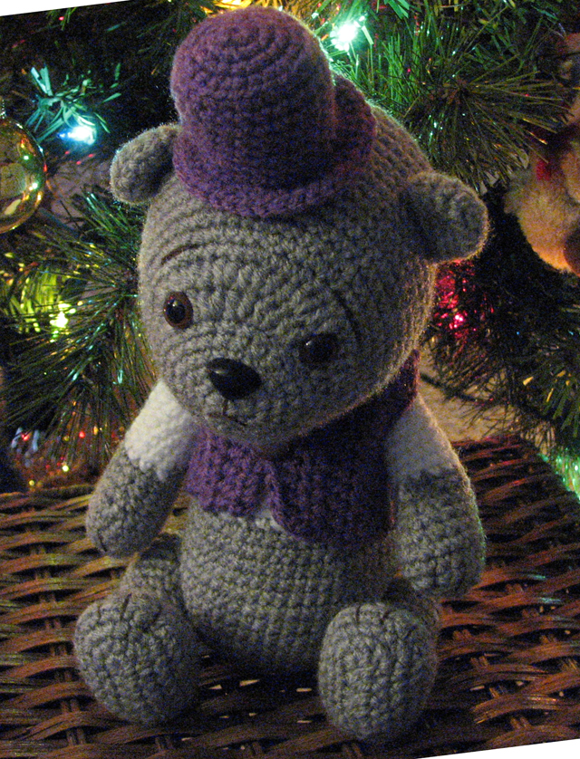 Grey Bear in a Hat SP_2