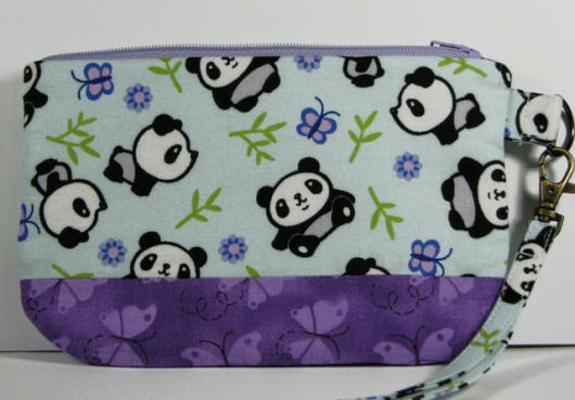 Panda Wristlet Pouch_1